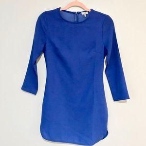 Tobi   Quarter Sleeve Royal Blue Tunic Dress